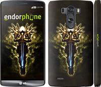 """Чехол на LG G3 D855 Diablo 3. Tyrael """"620m-47"""""""