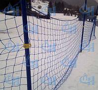 Сетки защитно-оградительные для горнолыжных трасс