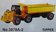 Машинка на радиоуправлении SCRAPER TRUCK , фото 3