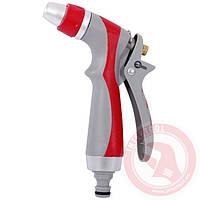 Пистолет-распылитель для полива с плавной регулировкой потока воды. LUXURY INTERTOOL GE-0017