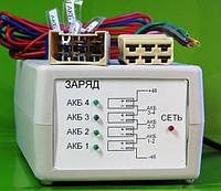 Многоканальные зарядные устройства-автомат с эффектом десульфатации для электровелосипедов 24В, 36В, 48В, 60В., фото 1