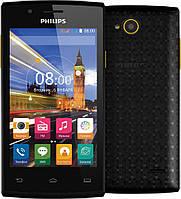 Philips S307 Dual Sim Black/Yellow