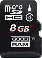 Карта памяти GOODRAM Class 4 8GB microSDHC no adapter (M400-0080R11)