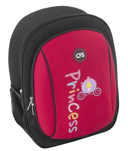 """Красный ранец 6+ для девочки с карманом для Laptop CFS EVA фасад 15"""", """"Princess"""" 732 CF85413"""