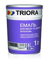 Краска эмаль акриловая для окон и дверей ТМ «TRIORA»
