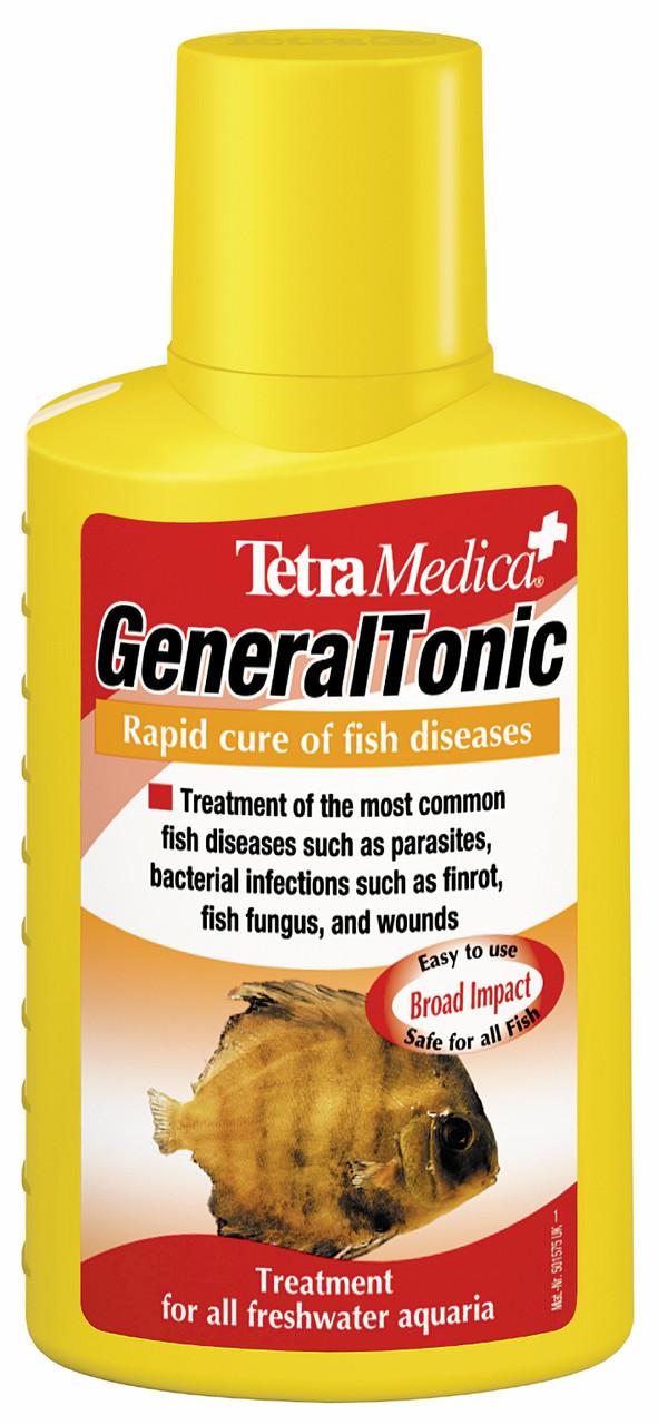 Tetra Med GeneralTonic 500ml - средство от бактерий и паразитов для аквариумных рыб - Интернет-магазин «Моё дело» в Харькове