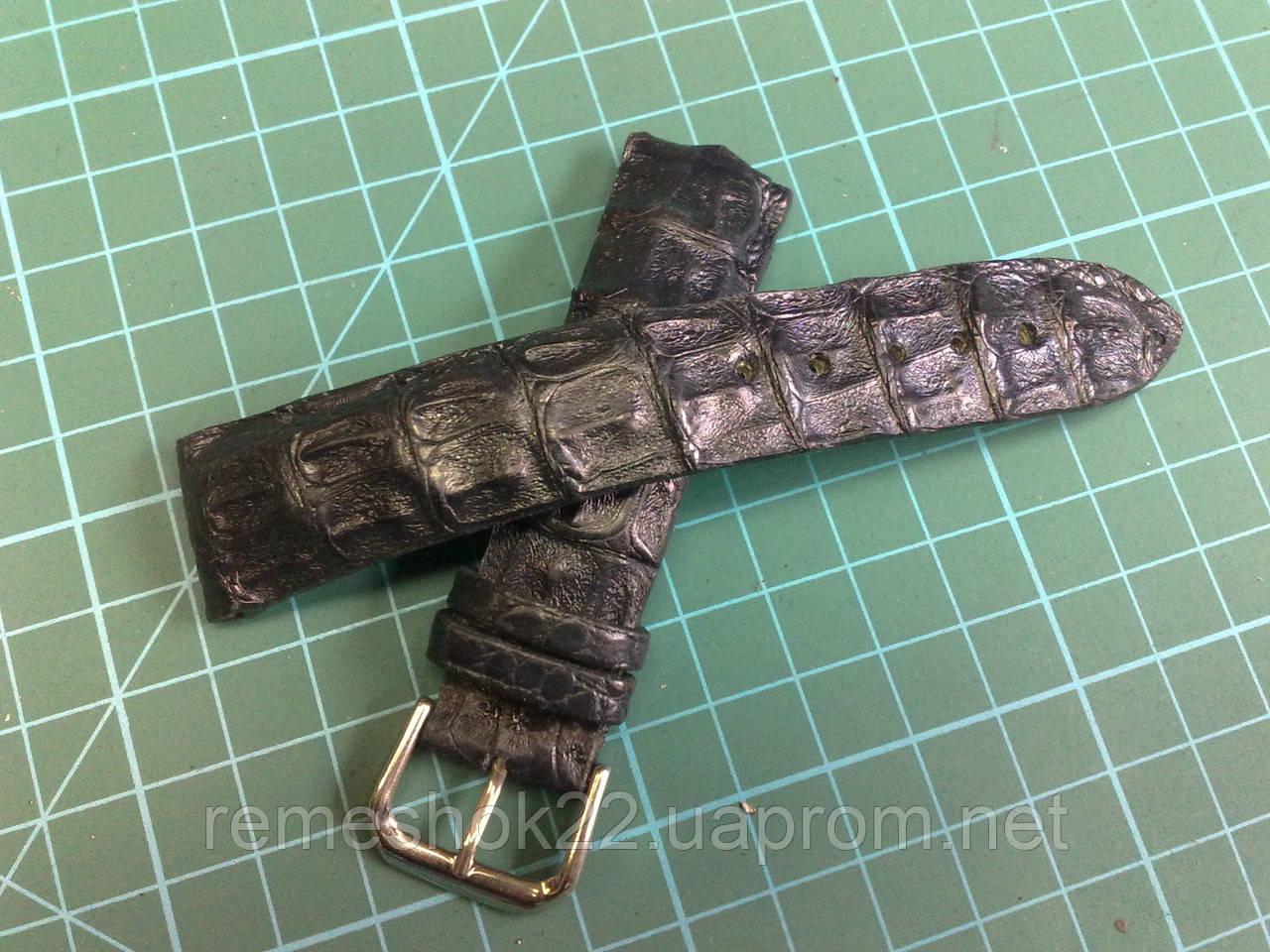 Ремешок из Крокодила для часов Breitling  - ремонт сумок, портфелей ,чемоданов, обуви, фурнитуры.ремешки для часов в Киеве