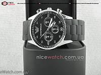 Кварцевые  мужские часы Emporio Armani с серебром