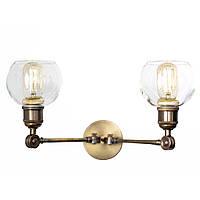Настенный светильник (бра) купол Loft Steampunk [ Wall Light mini Bubble ]