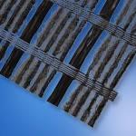 Геотекстильный композит Bitutex Stargrid GLU 50/50-30 (2,20м*100м) под асфальт, фото 2
