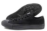 Кеды женские Converse All Star черные с черной подошвой