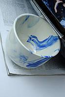 Чашка керамическая аппетитка, кобальт