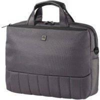 """Современная сумка для ноутбука 40*30*10 см. диагональю 17"""" CABINET O97272 серый"""