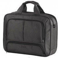 """Сумка для ноутбука 39,5*30*11,5 см. 17"""" с креплением для чемодана CABINET O97274 серый"""