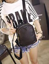 Аккуратный мини рюкзак для девушек, фото 3