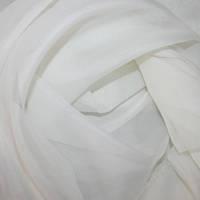 Тюль вуаль (шифон), Турция, цвет екрю-молочный