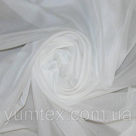 Тюль вуаль (шифон), Турция, цвет молочный
