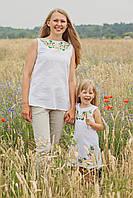 Туника женская с вышивкой Квітковий розмай