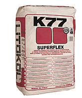 Клей для керамогранита, камня Litokol Superflex K77(литокол к77) 25 кг(белый)