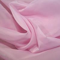 Тюль вуаль (шифон), Турция, цвет фрезово-розовый