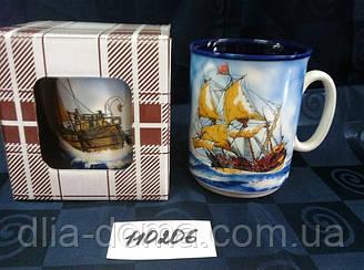 """Чашка """"Місто"""" в коробці Блакитний Корабель"""