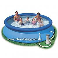 Надувной бассейн Intex Easy Set Pool intex 56422 (366х76 см. ) + насос киев