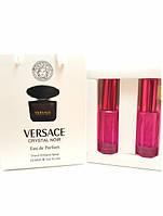 Женская парфюмированная вода Versace Crystal Noir for women в подарочной упаковке 2х20 ml RHA