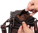 Мужская кожаная сумка через плечо 300139, фото 8