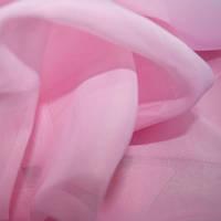 Тюль вуаль (шифон), Турция, цвет розовый