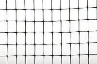 Ограждение TENAX CINTOFLEX E чёрное, 100х2 м (ячейка 12х14 мм, плотность: 70 г/м.кв)