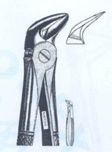Щипцы для удаления нижних моляров (Пакистан)