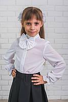 Блузка для девочки с бантом, фото 1