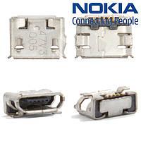 Коннектор зарядки для Nokia 7900, оригинал