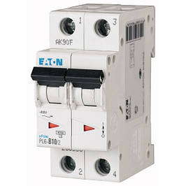 Автоматические выключатели двухполюсные Eaton (Moeller)