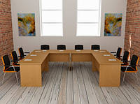 Система офисной мебели Бюджет 12 (2800*2100*750Н)