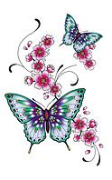 Временное тату Flowers of skin
