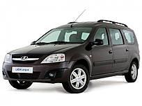 Автомобильные чехлы Виртус ВАЗ (Lada) Largus 2012 -> цельная задняя спинка