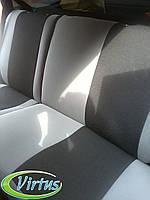 Автомобильные чехлы Виртус ВАЗ (Lada) Largus 2012 -> раздельная задняя спинка