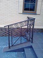 Перила кованые из стали