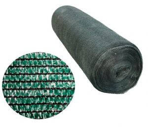 Сітка затінюють 95% 3м * 50м (120грм/м2) темно-зелена