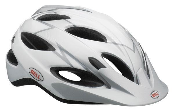 Велошлем Bell Piston белый/серебряный Dagger, Uni (54-61) (GT)