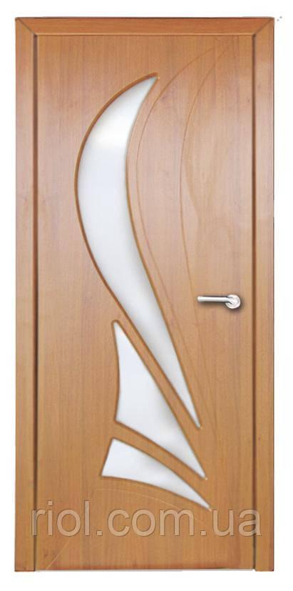 Дверь межкомнатная остекленная Корона