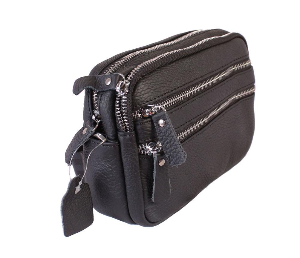 Многофункциональна мужская сумка из кожи 30119