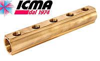 Простой коллектор 3/4*1/2  5 выходов ICMA Арт.1102