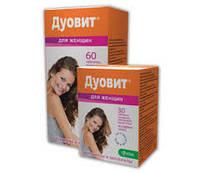 Дуовит для женщин-все витамины и минералы, необходимые для активного образа жизни каждой женщ