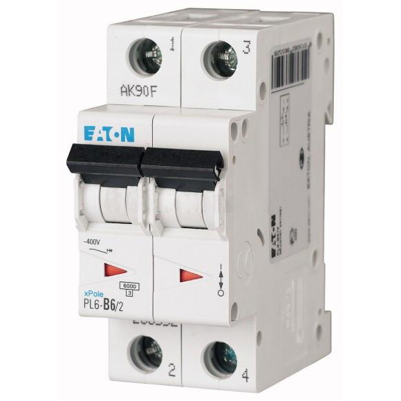 Автоматический выключатель Eaton (Moeller) PL4-C16/2 (293142)