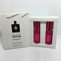 Женская парфюмированная вода Black Opium Yves Saint Laurent в подарочной упаковке 2х20 ml RHA