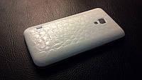 Декоративна захисна плівка для LG P715 Optimus L7 2 Dual алігатор білий, фото 1