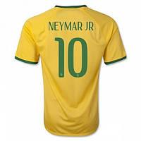 Футбольная форма Сборной Бразилии Неймар ЕВРО 2016 Домашняя