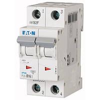 Автоматический выключатель Eaton (Moeller) PL6-C16/2 (286567)
